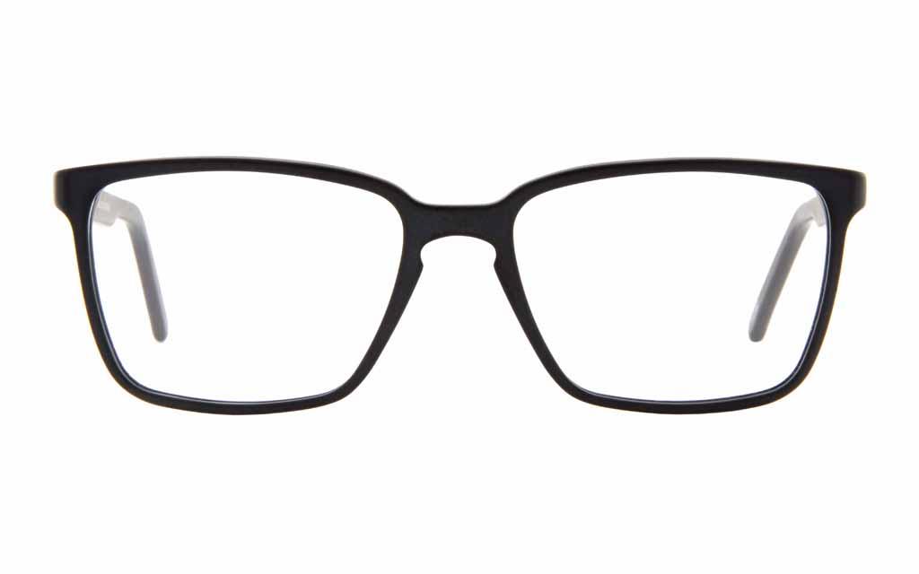 Schwarze Brille von Andy Wolf Eckig