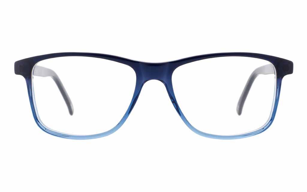 Blaue Brille von Andy Wolf Eckig