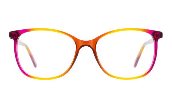 Beige Brille von Andy Wolf Eckig