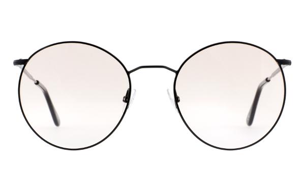 Schwarze Brille von Andy Wolf Eckig mit Sonnenbrillenclip