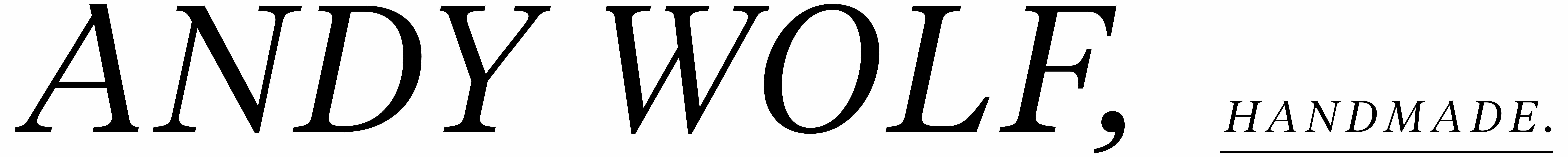 Andy Wolf Logo für Andy Wolf Brillen in Klosterneuburg