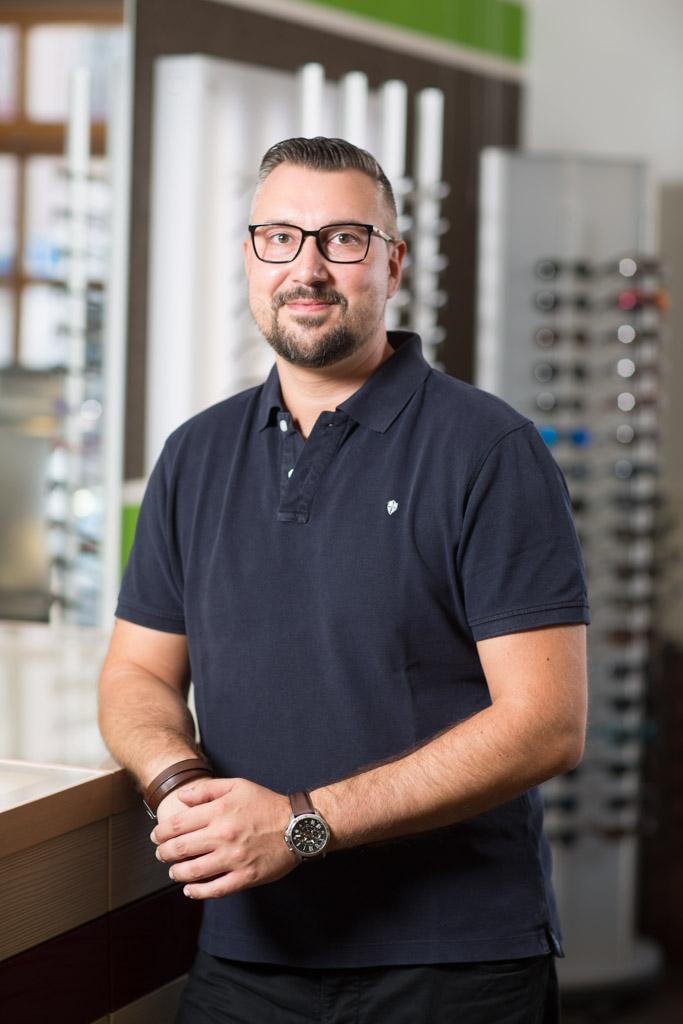 Christian Trautenberg - Chef der Sehwerkstatt Trautenberg